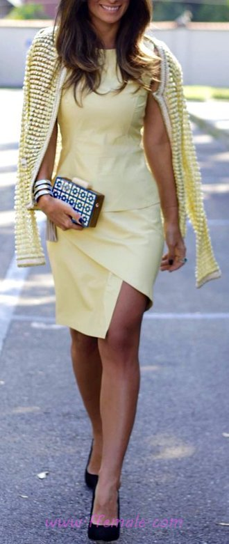 Lovely & Furnished Summer Dress - posing, cool, fancy, clothes