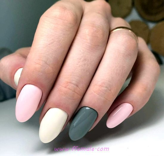 My Adorable And Gorgeous Gel Manicure Art Ideas - sexy, beautiful, nailart, nailstyle
