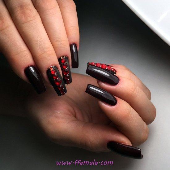 My Attractive And Hot Manicure Art Design - gorgeous, nailsdone, diy, nailart