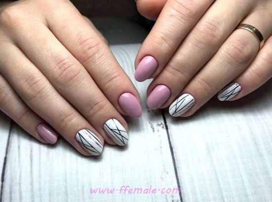 My Best And Sexy Gel Manicure Ideas - dreamy, star, naildesign, nail
