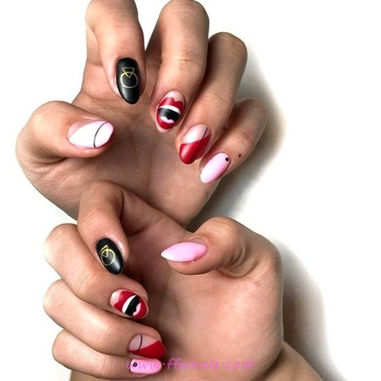 My Best Hot French Nail Idea - magic, best, nailart, naildesign