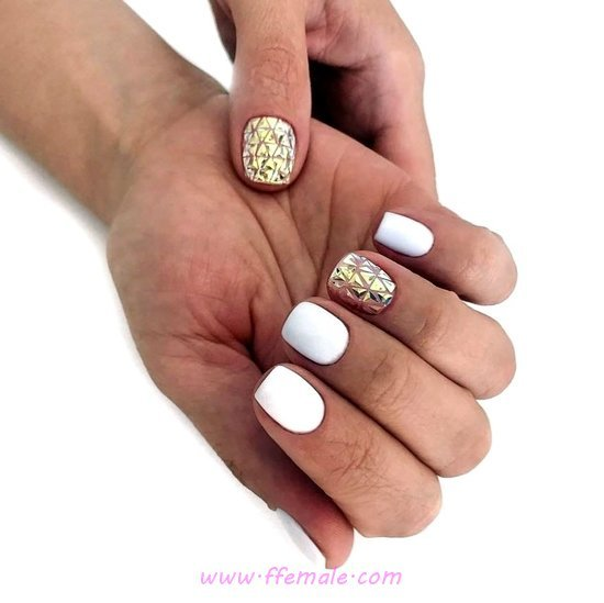 My Charming Easy Gel Manicure Design Ideas - nailsdone, nailart, enchanting, teen