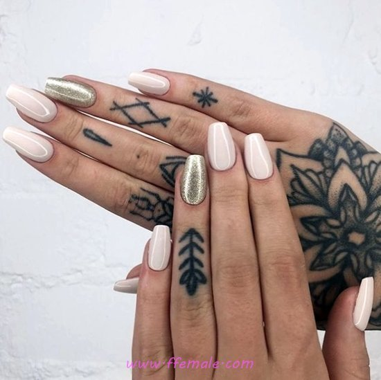 My Charming Glamour Nails Art - lovely, gotnails, creative, nail