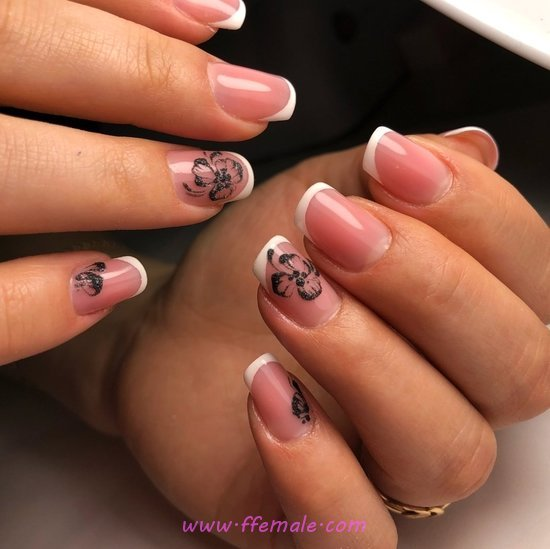 My Chic & Orderly Gel Manicure Ideas - graceful, party, diy, nailart