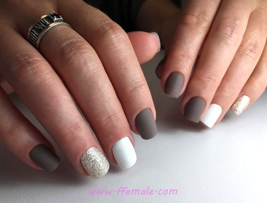 My Creative And Loveable French Gel Nails Art Design - sweet, nailartideas, nail, manicure
