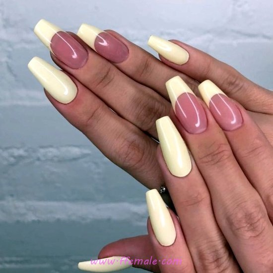 My Dainty And Neat Gel Nails Trend - nail, naildesign, hilarious, acrylic