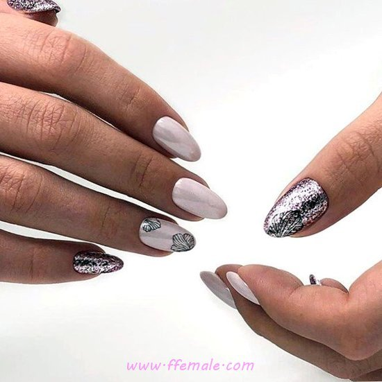 My Dainty And Top Gel Nail Design - best, getnails, art, nailart, simple