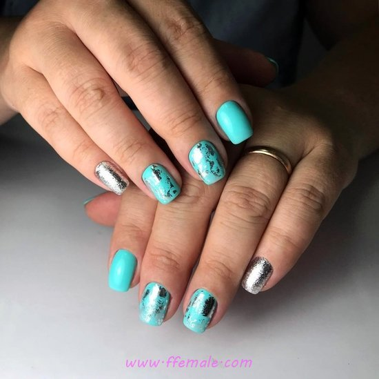My Delightful & Stately Gel Nails Art Design - nailstyle, nails, awesome, precious