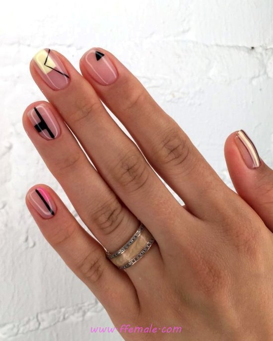My Dream And Easy Gel Nail Art Design - nice, furnished, nailideas, nail, gel