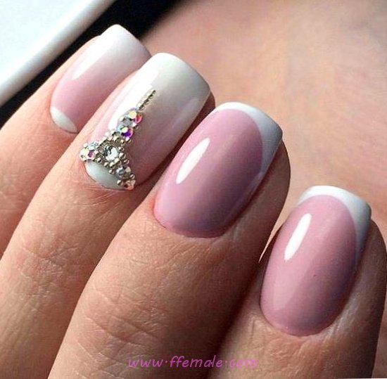 My Easy And Classy Nail Art Ideas - lifestyle, dainty, lovely, nails
