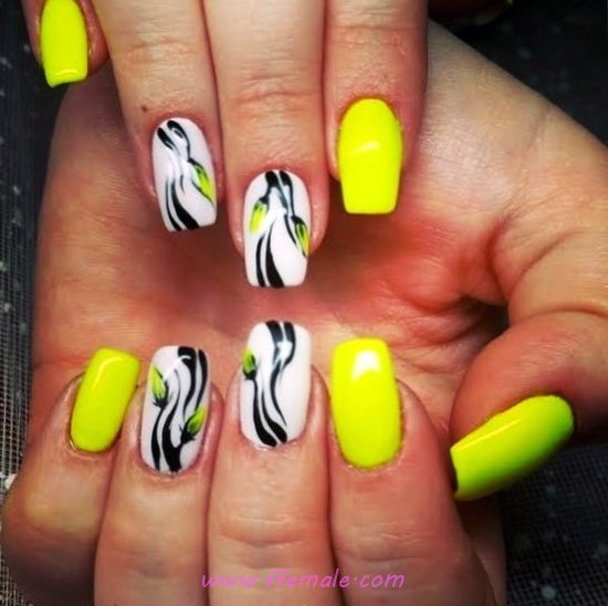 My Elegant And Wonderful Gel Nail Style - art, pretty, nail, nailideas