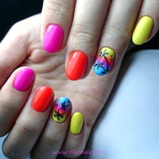 My Elegant & Hot American Acrylic Manicure Style - neat, nailstyle, nail, cool, style
