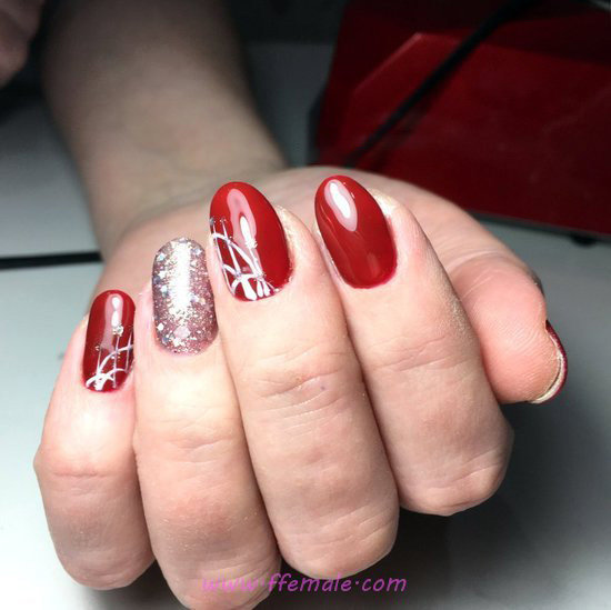 My Feminine And Loveable American Gel Manicure Art - awesome, nailidea, nail, diy, perfect