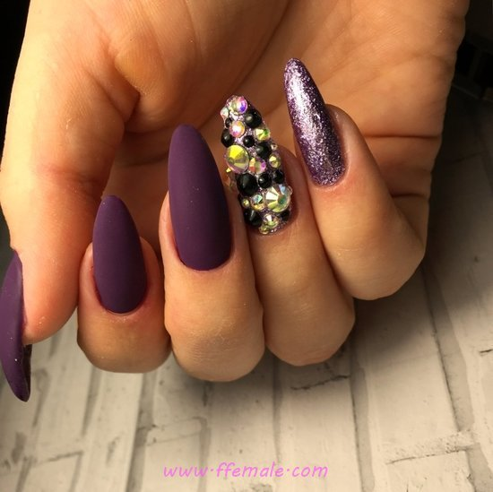 My Feminine And Professionail Acrylic Manicure Art Ideas - handsome, shiny, nail, nailartdesign
