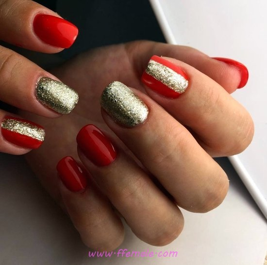 My Fresh And Easy American Gel Manicure Trend - nice, nailart, magic, getnails