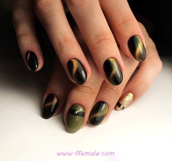 My Fresh And Wonderful Gel Nails Art - beautiful, sexiest, nails, nailstyle