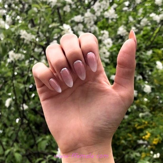 My Fresh & Easy French Acrylic Manicure Design - clever, nail, nailideas, idea, smart