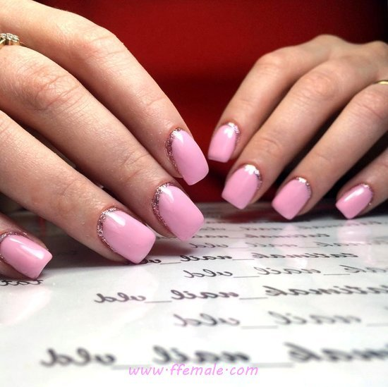 My Girly Lovable Manicure Trend - dainty, nails, manicure, lovely