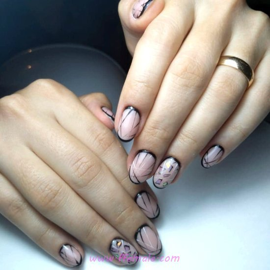 My Glamour And Chic Gel Nail Style - gel, love, cool, nail, nailstyle