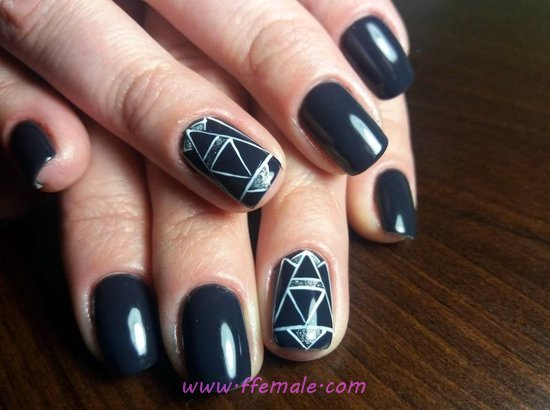 My Gorgeous & Girly French Gel Nails Art Ideas - nailart, nailideas, diy, inspiration