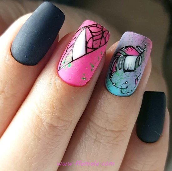 My Iconic Classy Nail Ideas - glamour, nail, idea, clever