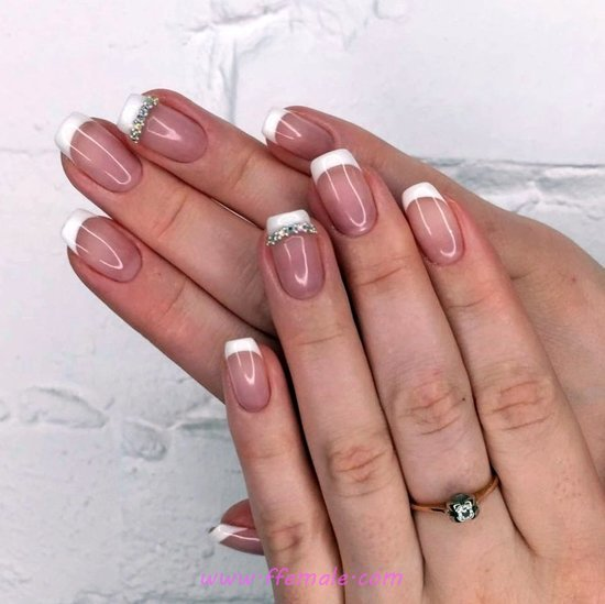 My Loveable And Adorable French Manicure Design Ideas - nails, nailideas, design, nailsdone