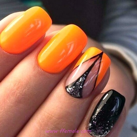 My Loveable And Girly Gel Nail Design - nailidea, nails, shiny, design, cool