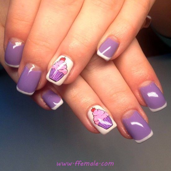My Loveable Charming American Gel Nail Trend - nails, lovable, hilarious, manicure