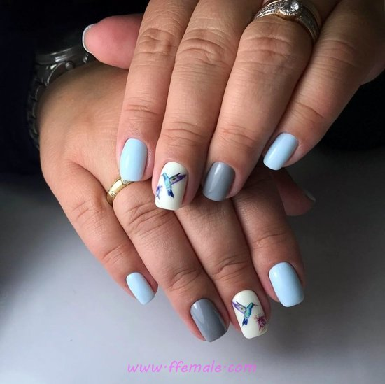 My Lovely And Charming Nail Idea - nail, selfnail, glamour, style, cutie