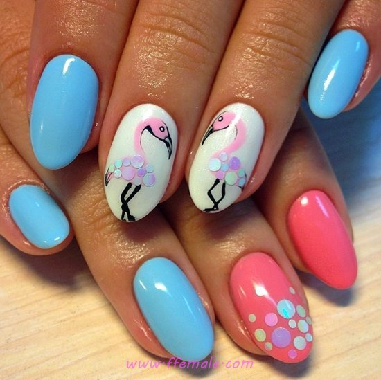My Lovely Fashionable Acrylic Manicure - teen, nailideas, nail, delightful
