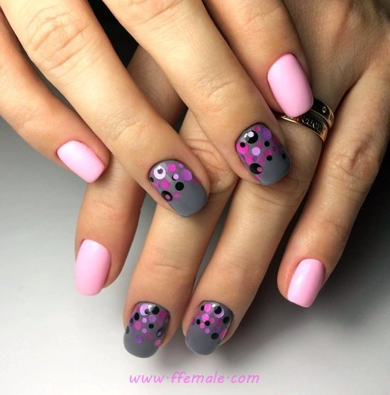 My Nice Cute Nails Art Ideas - fashionable, nails, plush, clever