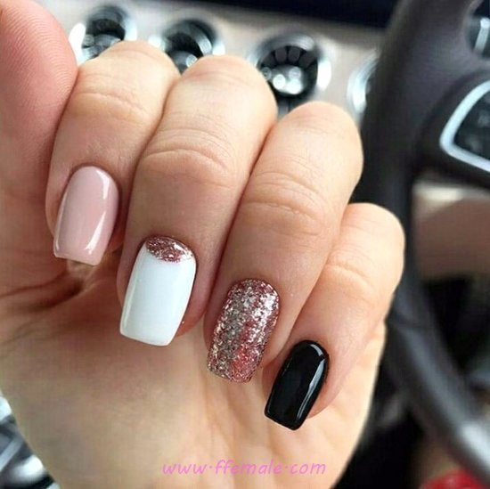 My Orderly & Colorful American Acrylic Manicure Art Ideas - handsome, beautiful, selfnail, nails