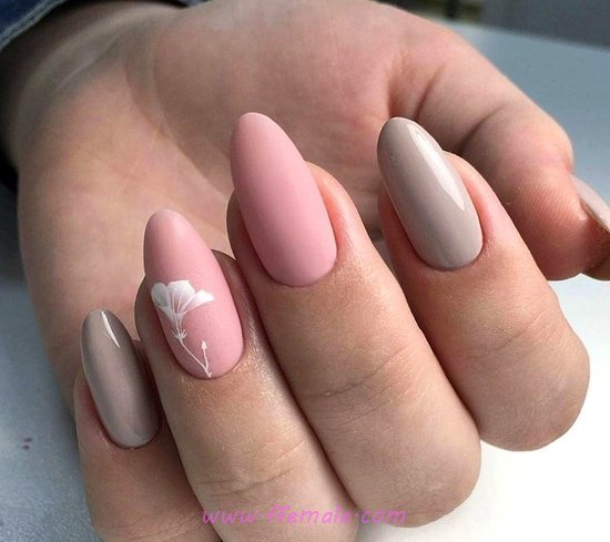 My Sexy And Enchanting Gel Manicure Art Design - nail, charming, star, simple