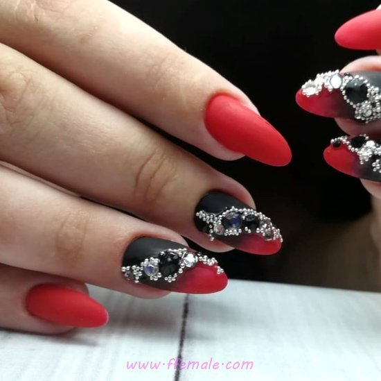 My Stately And Creative American Manicure Art Design - nails, naildesign, sweetie, artful