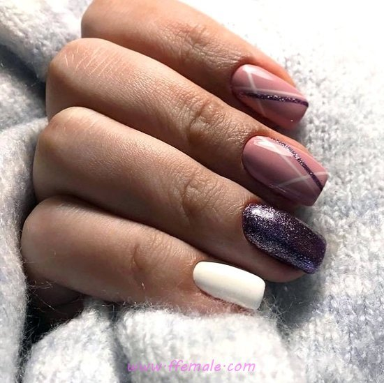 My Stately Cool French Gel Nail Design Ideas - naildesign, nail, handsome, super