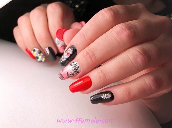 Neat & Ceremonial Art Design - creative, nail, fashion, wonderful