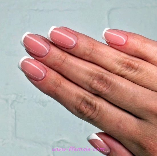 Neat Classic Acrylic Nails Design - hollywood, classic, furnished, nails