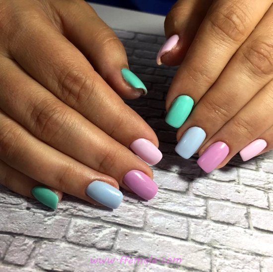 Neat & Elegant Nail Design - party, nails, nailideas, smart