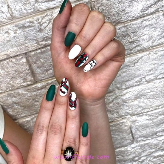 Nice & Awesome Acrylic Nails - fashion, cute, nailart, manicure