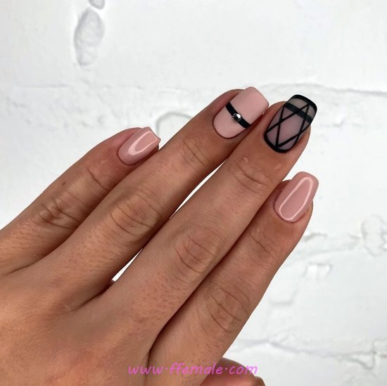 Nice Chic Acrylic Nails Art Design - ideas, top, cool, nail, nailartdesign