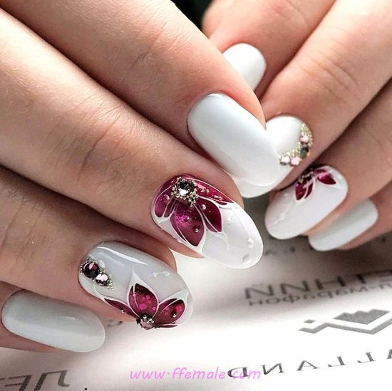 100 Easy and Simple Nail Arts That You Will Love ⋆ ffemale.com