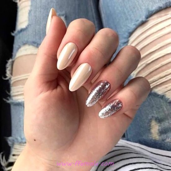 Orderly And Attractive Gel Nail Style - sexy, cunning, nail, adorable