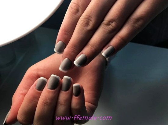 Orderly And Cute French Gel Manicure Design Ideas - nailart, style, graceful