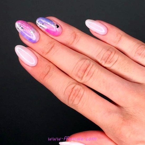 Orderly And Dainty American Acrylic Nails Ideas - nailidea, nailart, amusing, plush