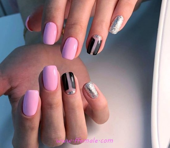 Orderly & Colorful French Nail Art Ideas - weekend, nailartideas, nail
