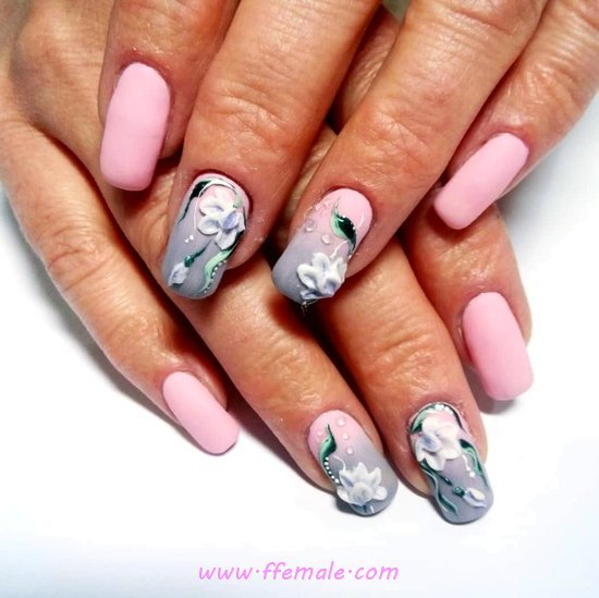 Orderly & Fantastic Gel Nails Style - photoshoot, shiny, nail, nailstyle