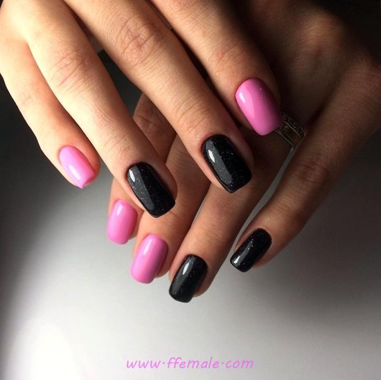 Perfect And Classic Idea - nails, naildesigns, star, glamour