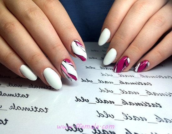Perfect And Enchanting French Gel Manicure Style - precious, nail, fashion, clever