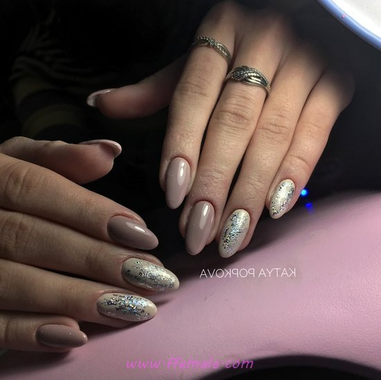 Perfect & Cute Gel Nail Trend - naildesign, nailart, dainty, idea