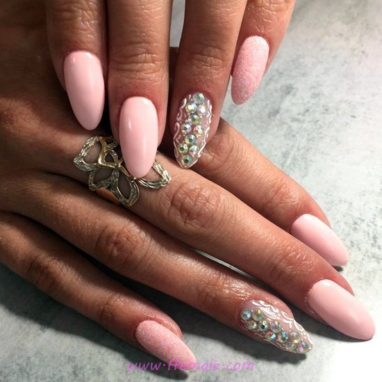 Perfect Enchanting American Nails Ideas - art, best, graceful, nails